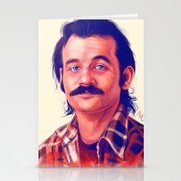 actor Stationery Cards featuring Young Mr. Bill Murray by Thubakabra