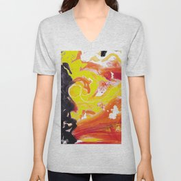 IN A HURRY !                                  by Kay Lipton Unisex V-Neck