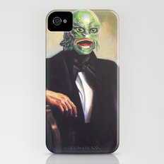 Portrait of Monsieur Gills iPhone (4, 4s) Slim Case