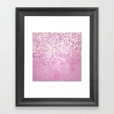 Glitteresques IV:I Framed Art Print