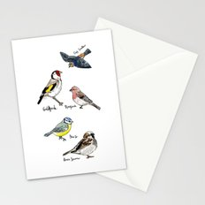 English Birds Stationery Cards