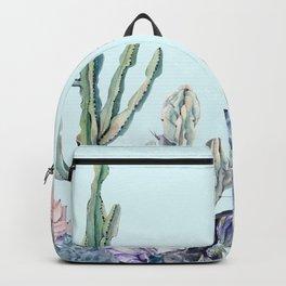 Desert Gemstone Oasis Turquoise Backpack