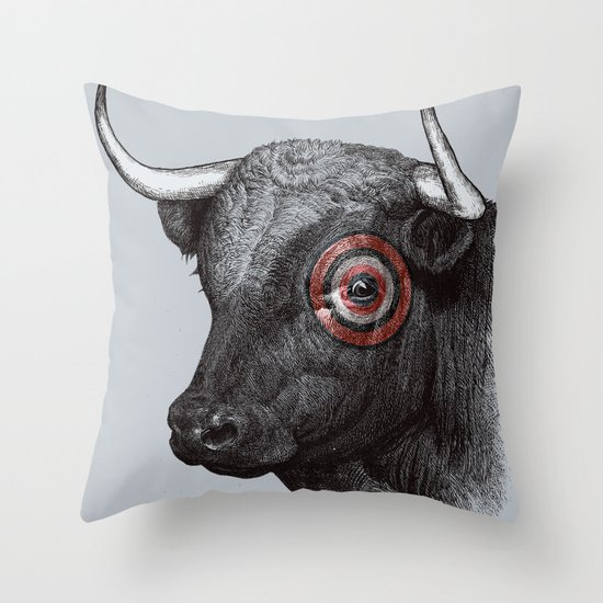 Bullseye Throw Pillow