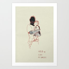 Rick & Judith Art Print