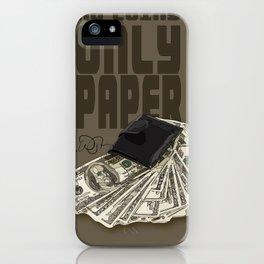 No Coins iPhone Case