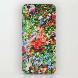 Colorful Flowers iPhone Skin