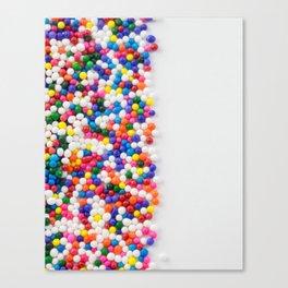 Birthday Sprinkles Canvas Print