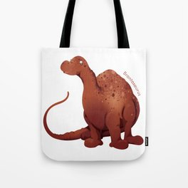 Huggable Brontosaurus Tote Bag