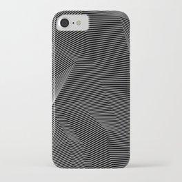 Minimal lines iPhone Case