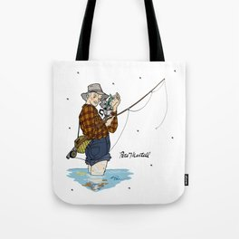 Pete Martell Pin-up Tote Bag