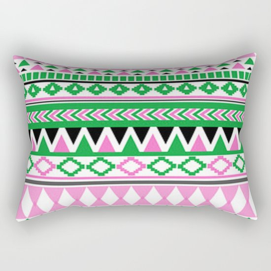 Tribal Pattern 07 Rectangular Pillow