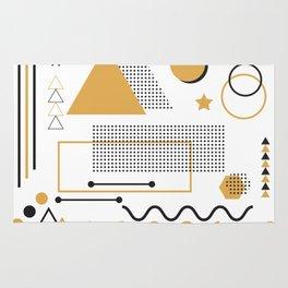 Memphis Pattern Design Rug