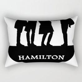 hamiton musical quote Rectangular Pillow