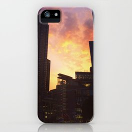 On fire iPhone Case
