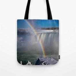 falls misty rainbow - 2 Tote Bag