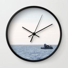 Fishing Boat Wall Clock