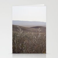 plain Stationery Cards featuring carrizo plain by maedel