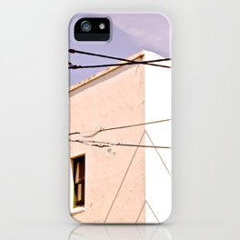 Manly Houses iPhone Case