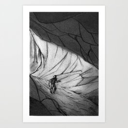 The Cave Art Print
