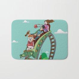 Rollercoaster Bath Mat