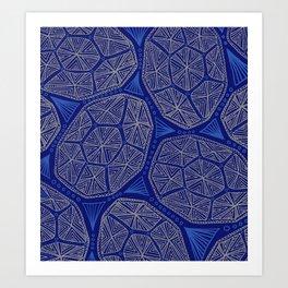 Turtle Shells Art Print