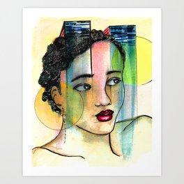Light Music Art Print