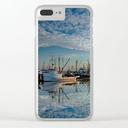 Beautiful reflection at sunset by Alex Lyubar Clear iPhone Case