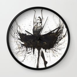 The Black Swan Wall Clock