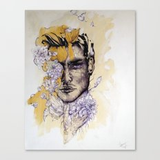 IN Gold Canvas Print