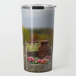 Flower Cart Travel Mug