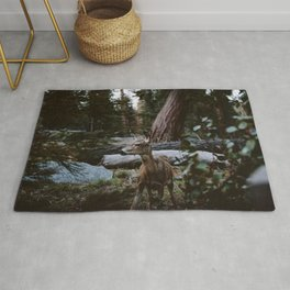 Sequoia Forest Deer Rug