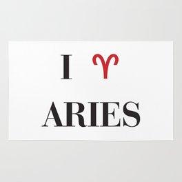 I heart Aries Rug