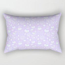Herb Witch // Purple Pastel Rectangular Pillow
