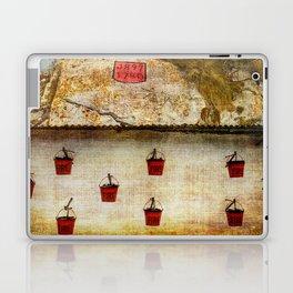 Gibraltar Fire Buckets Laptop & iPad Skin