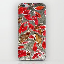 Softly Falling iPhone Skin