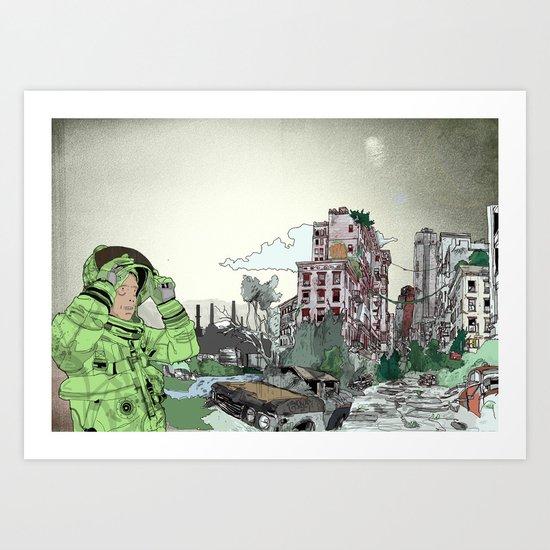 Wasteland Art Print