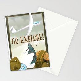 Go Explore! Stationery Cards