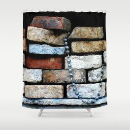 fancy kind of death Shower Curtain