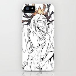Magic Girl - 01 iPhone Case