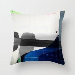 Cracked V2 Throw Pillow