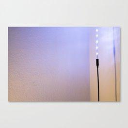 LED Canvas Print