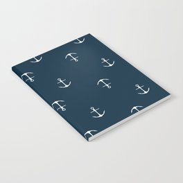 Anchor Print Notebook