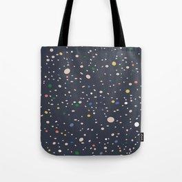 Spots of colour Tote Bag