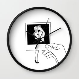 We used to be together Wall Clock