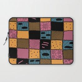 Nightmare Sally inspired pattern Laptop Sleeve