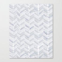 Slate Chevron Canvas Print