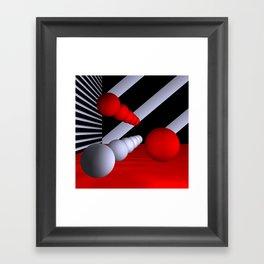 3D-geometry -11- Framed Art Print