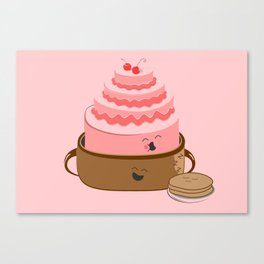 How Pancake Started Canvas Print