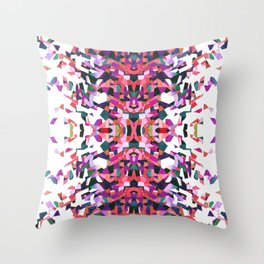 Beethoven abstraction Throw Pillow