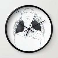 lama Wall Clocks featuring lama by Lisseau Design Lab